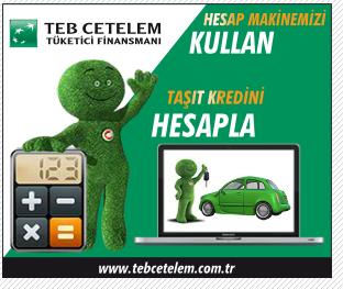TEB Cetelem Hesap Makinesini Kullan,<br>Taşıt Kredini Hesapla,<br>4 Adımda Online Başvurunu Tamamla