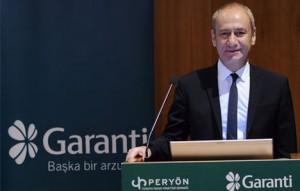 Garanti Bankası Genel Müdür Yardımcısı Nafiz Karadere